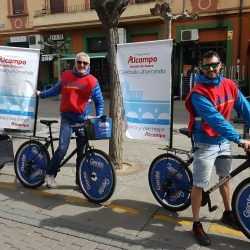 bicicleta-tv-publicidad-publi-bike-street-marketing-evento-personalizada-madrid-alcampo-aranda-de-duero-2